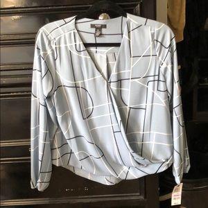 ALFANI petite blouse   NWT